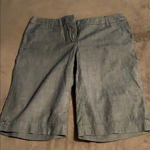 New York & Co Bermuda Dress Shorts